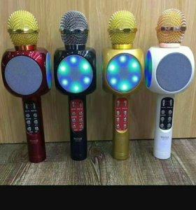 Микрофоны колонки