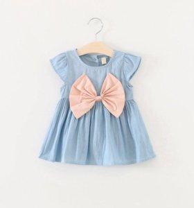 Платье 7-9 месяцев новое