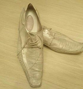 Туфли мужские(кожаные)