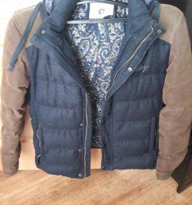 Теплая зимная куртка мужская