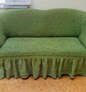 универсальный чехол на диван
