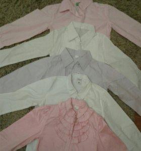 Рубашки школьные (5 шт)