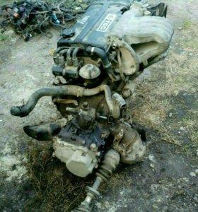 Двигатель с дэу нексии с коробкой