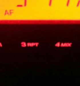 Магнитолв штатная оригинальная на пежо 206 2007г.