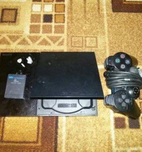 """Игровая приставка """"Sony plastation2"""
