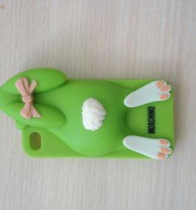 Чехол Moschino на Iphone 4, 4S