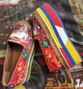 Dolche Gabbana слипоны/ Эспадрильи/ обувь