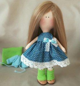 Кукла ручной работы, игровая /интерьерная