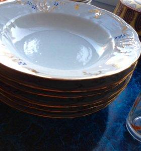 Новый набор из 6 тарелок