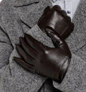 Перчатки мужские ( кожа )