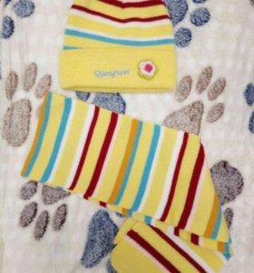 Продам комплект шапка+шарф