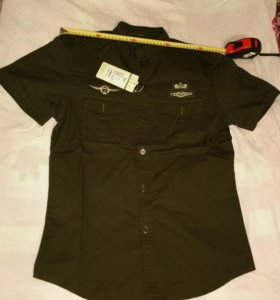 Рубашка стиля милитари