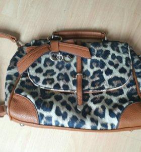 Сумка леопардовая сумочка