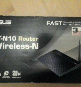 Роутер RT - N 10 Wireless - N Router Asus
