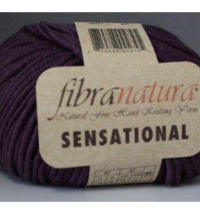 Пряжа fibra natura sensational