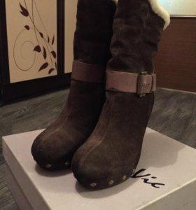 Новые зимние ботинки р.37