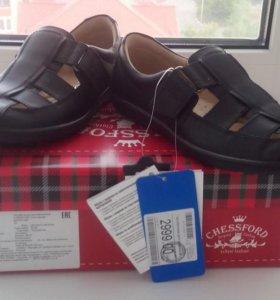 Туфли новые кожаные 33 рр