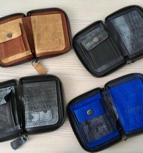 Кожанные партмоне,барсетка,кошелёк,органайзеры.