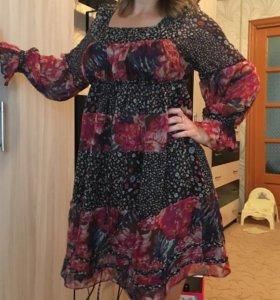 Легкое платье, можно для беременной