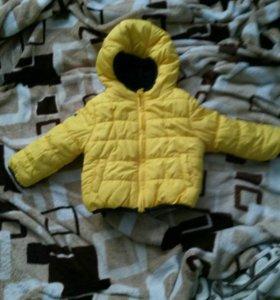 Куртка новая,не подошел размер