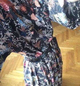 Платье в пол Кира Пластинина