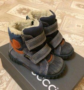 Ботинки Ecco зимние (еврозима) 21 размер.