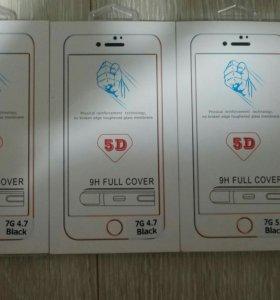 5d стекла на Iphone 6/6+/7/7+