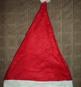 Новогодний колпак (шапка Деда Мороза). Новый