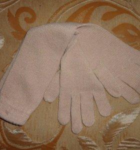 Женские длинные перчатки.