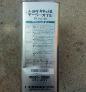 Масло toyota 0W2P SN GF5