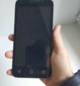 Alcatel One Touch PIXI 3 (4.5) 4027D Black+чехол