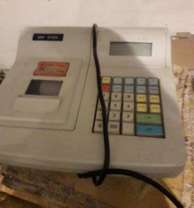 Касса и ящик для денег