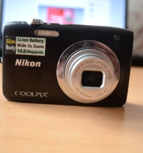 Фотоаппарат Nikon coolpix S2600 Black