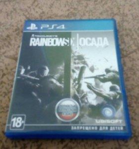 Игра для PlayStation 4 rainbow Six