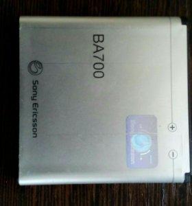 Аккумулятор сотового телефона Sony Ericsson xperia