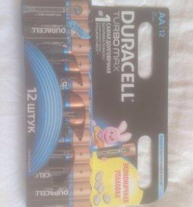 Батарейки Duracell Turbo Max AAA/AA