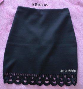Черная юбка GJ