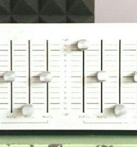 "Эквалайзер графический ""Корвет-004-стерео"" 1987 г"