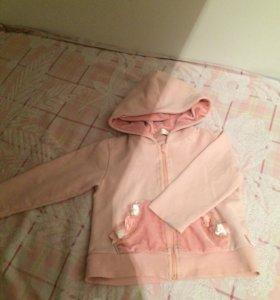 Детские вещи платье,теплые кофты