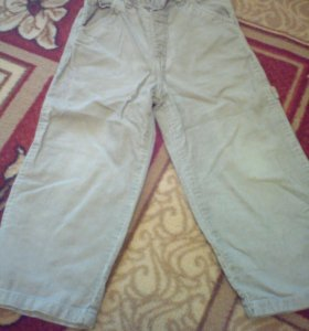 Вельветовые штанишки р92-98