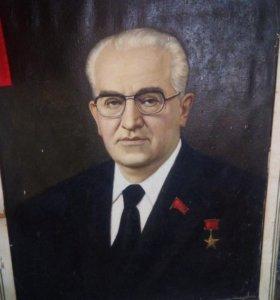 Портрет Ю.Андропова