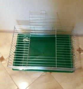 Клетка для хорьков/кроликов и прочих грызунов.