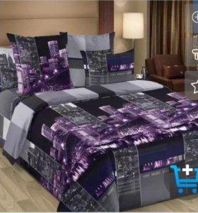 Комплект постельного белья новый (летний)