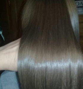 Кератиновое выпрямление,ботокс, коллаген для волос