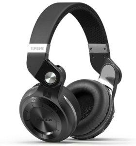 Новые наушники беспроводные Bluedio T2+