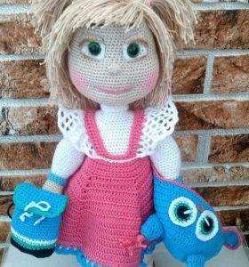 Кукла Модница - ручная работа