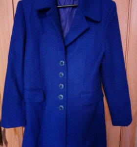 Новое шерстяное женское пальто р. 44