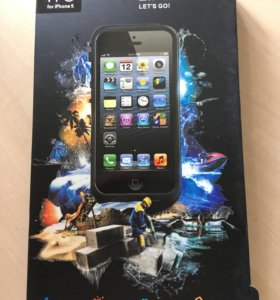 Чехол на iPhone5 водонепроницаемый LIFEPROOFF