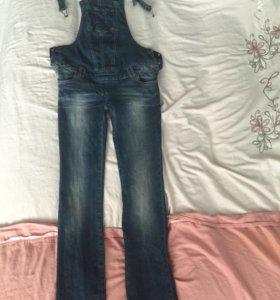 Комбинезон / джинсы для беременных , размер 40-42