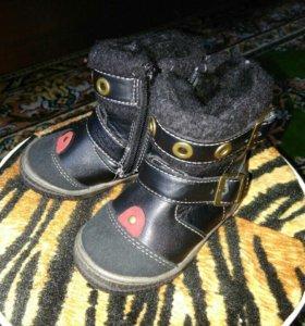 Ботинки зимние, р20